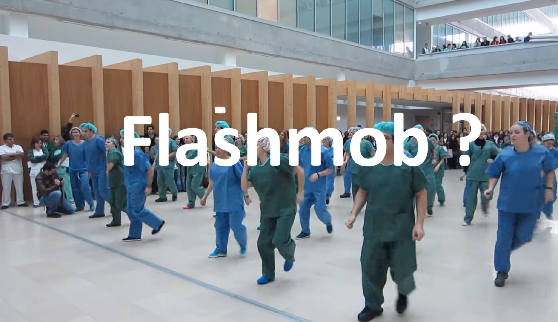 flashmob hospital